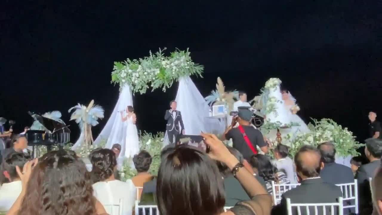 Thu Minh hát trong đám cưới Đông Nhi - Ông Cao Thắng