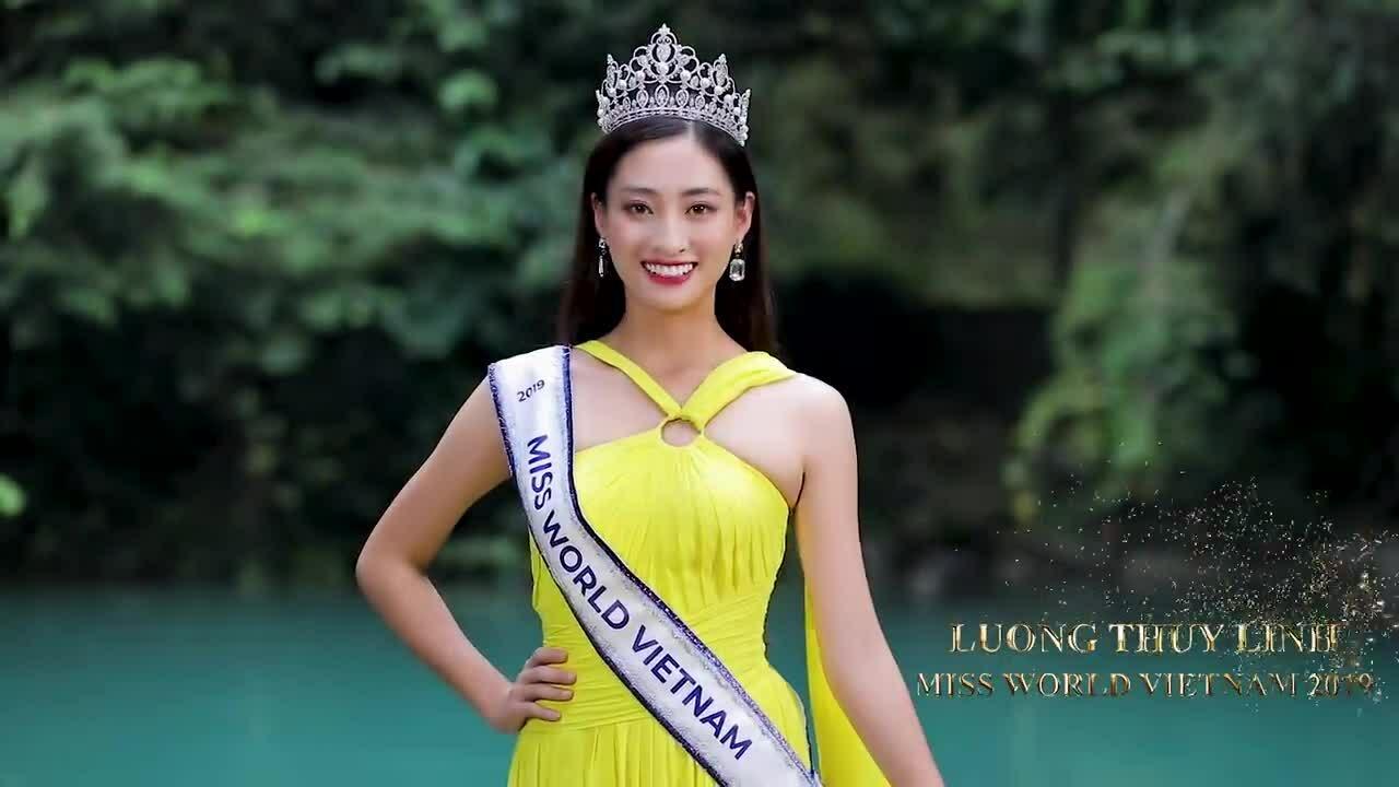 Hoa hậu Lương Thuỳ Linh giới thiệu bản thân bằng tiếng Anh