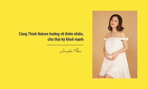 Bí quyết nhan sắc rạng rỡ, thai kỳ khỏe mạnh của Jennifer Phạm