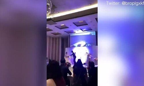 Chú rể chiếu cảnh cô dâu khoả thân với anh rể trong đám cưới