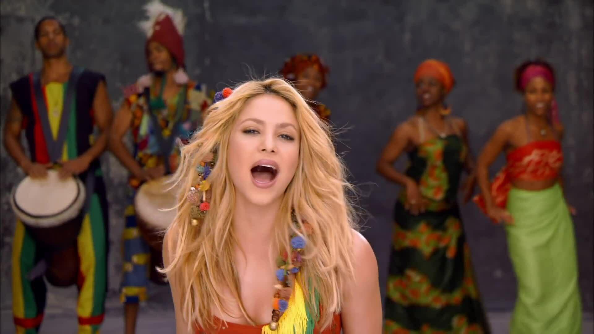 Video Waka Waka của Shakira