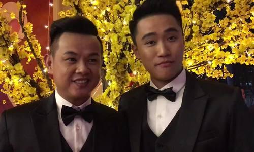 Bạn trai cũ của Lâm Khánh Chi sánh đôi bạn đời trong đám cưới LGBT
