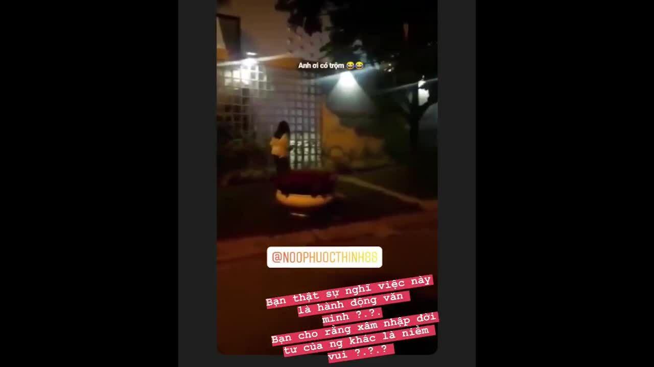 Noo Phước Thịnh bức xúc vì fan cuồng đến nhà lúc nửa đêm