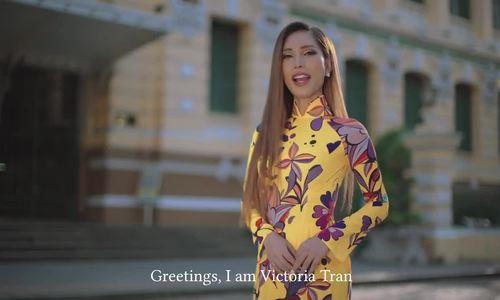Vicky Trần - Hoa hậu Chuyển giới Thụy Điển 2020
