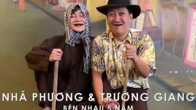Trường Giang 'họa mặt' bà già cho Nhã Phương