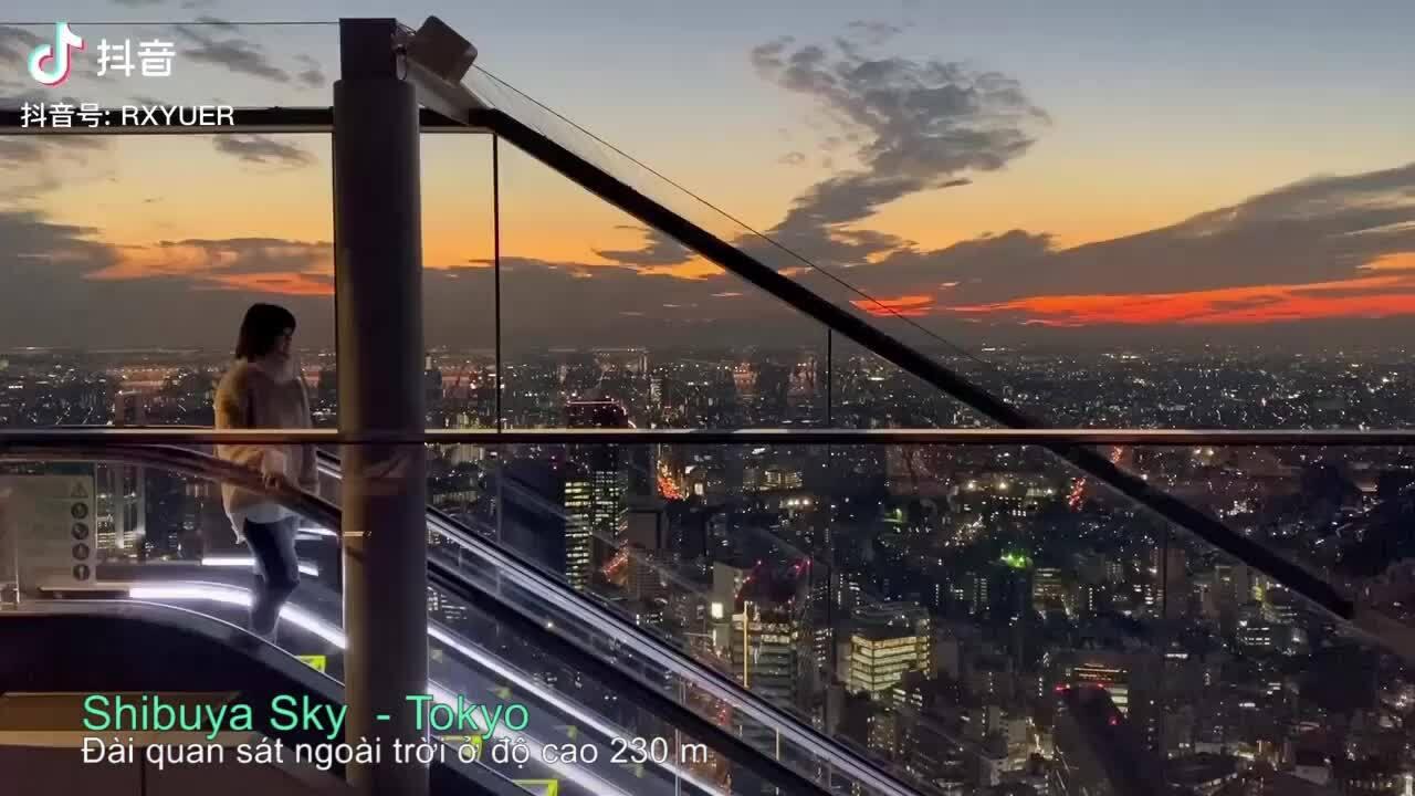 'Chill' ở độ cao 230 m giữa Tokyo