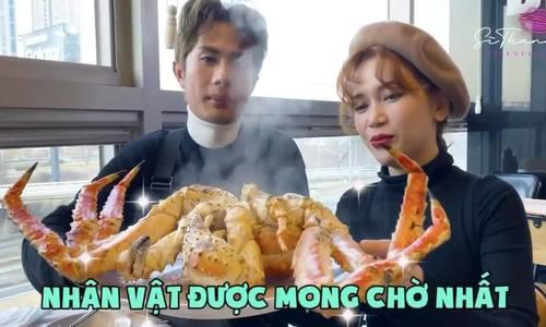 Sĩ Thanh ăn hết 11 triệu hải sản ở Hàn Quốc