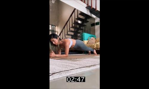 3 phút plank biến thể củng cố sức bền toàn thân