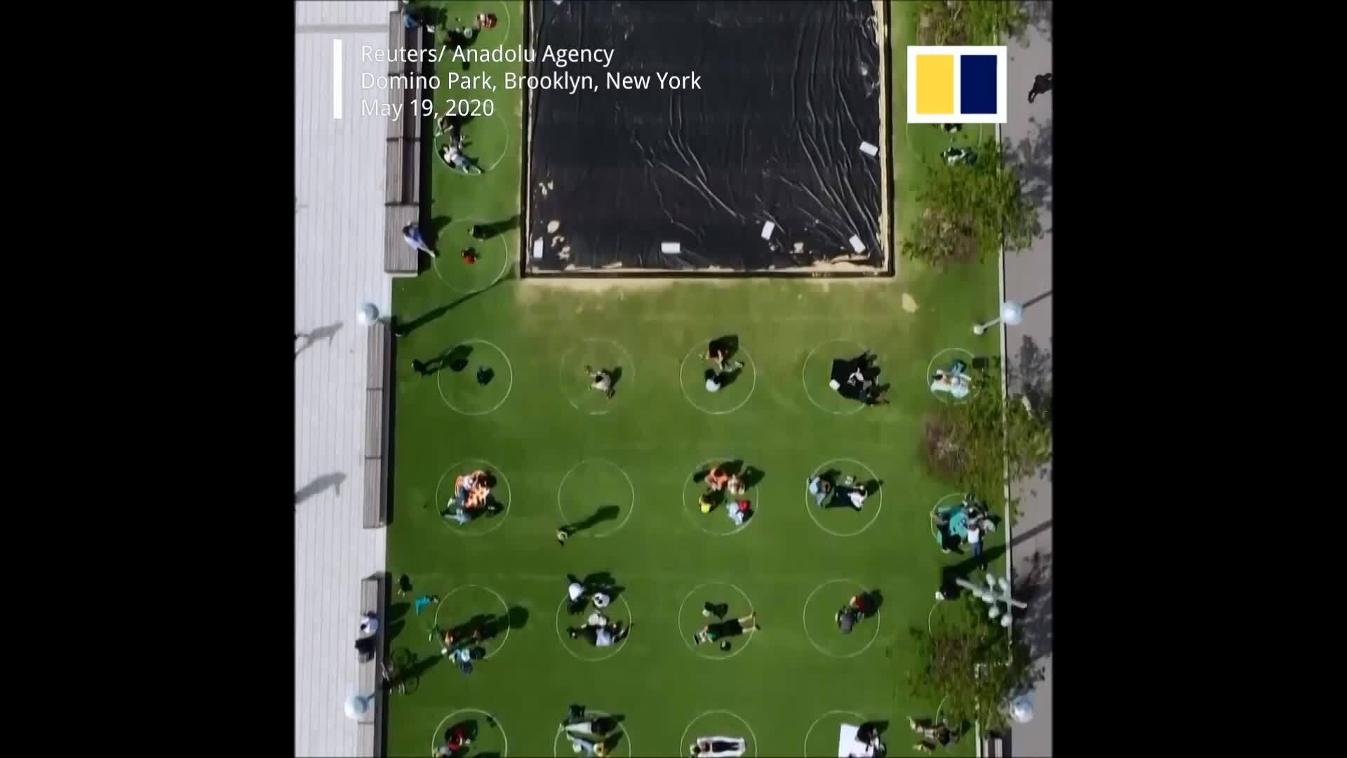 Công viên giãn cách xã hội kiểu Mỹ