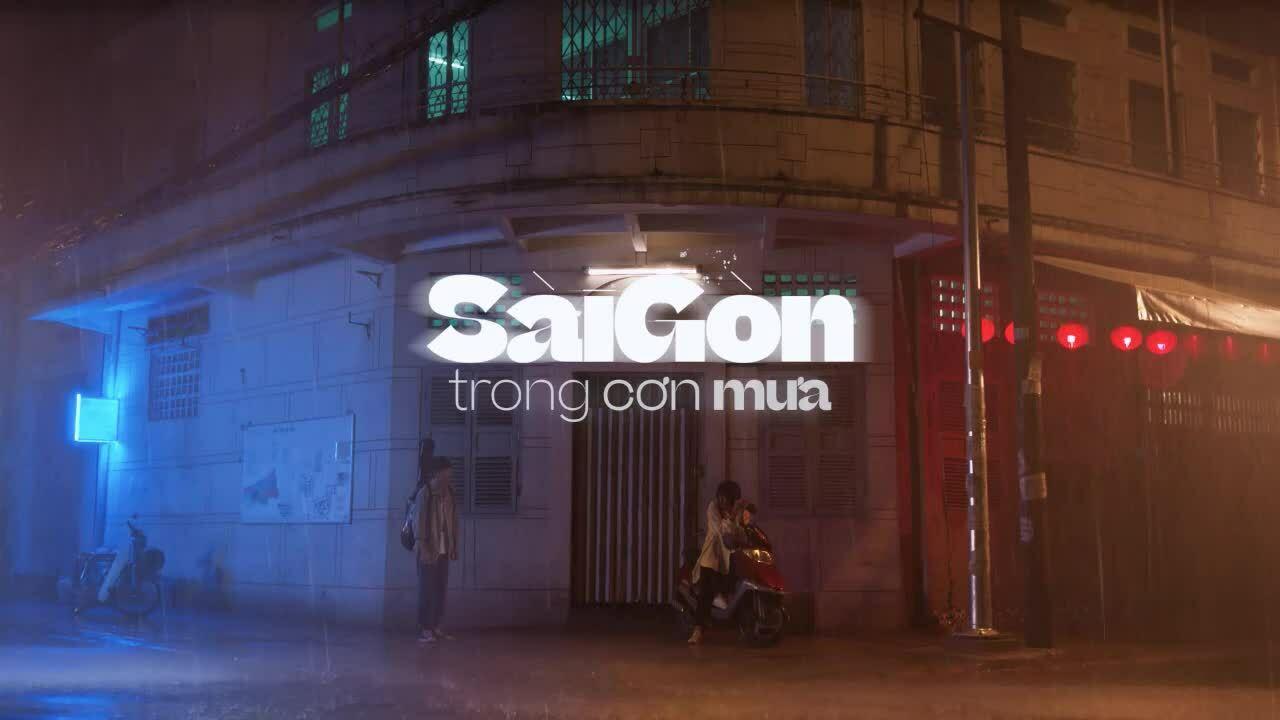 Sài Gòn trong cơn mưa first look