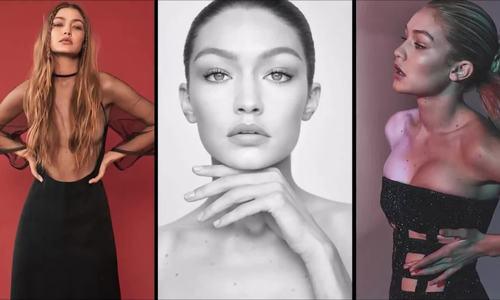 Khoảnh khắc làm mẫu của Gigi Hadid