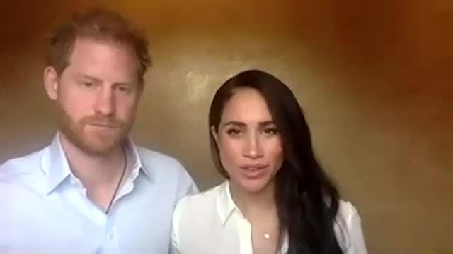 Harry bị Meghan 'át vía' trong video mới