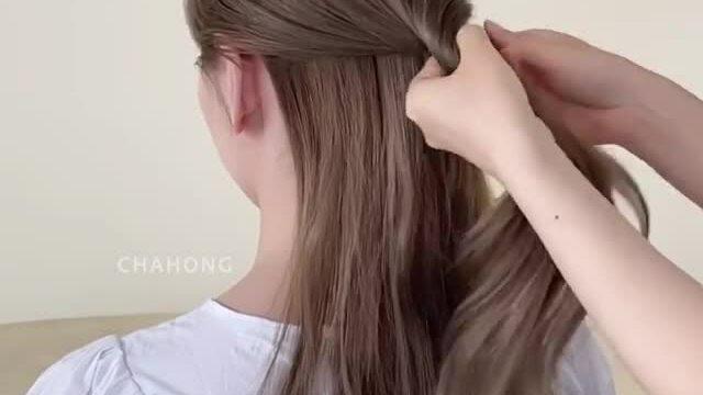 Biến tấu nhỏ giúp tóc buộc nửa đầu thêm điệu đà