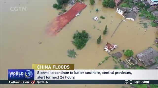 30 triệu người Trung Quốc thiệt hại vì mưa lũ