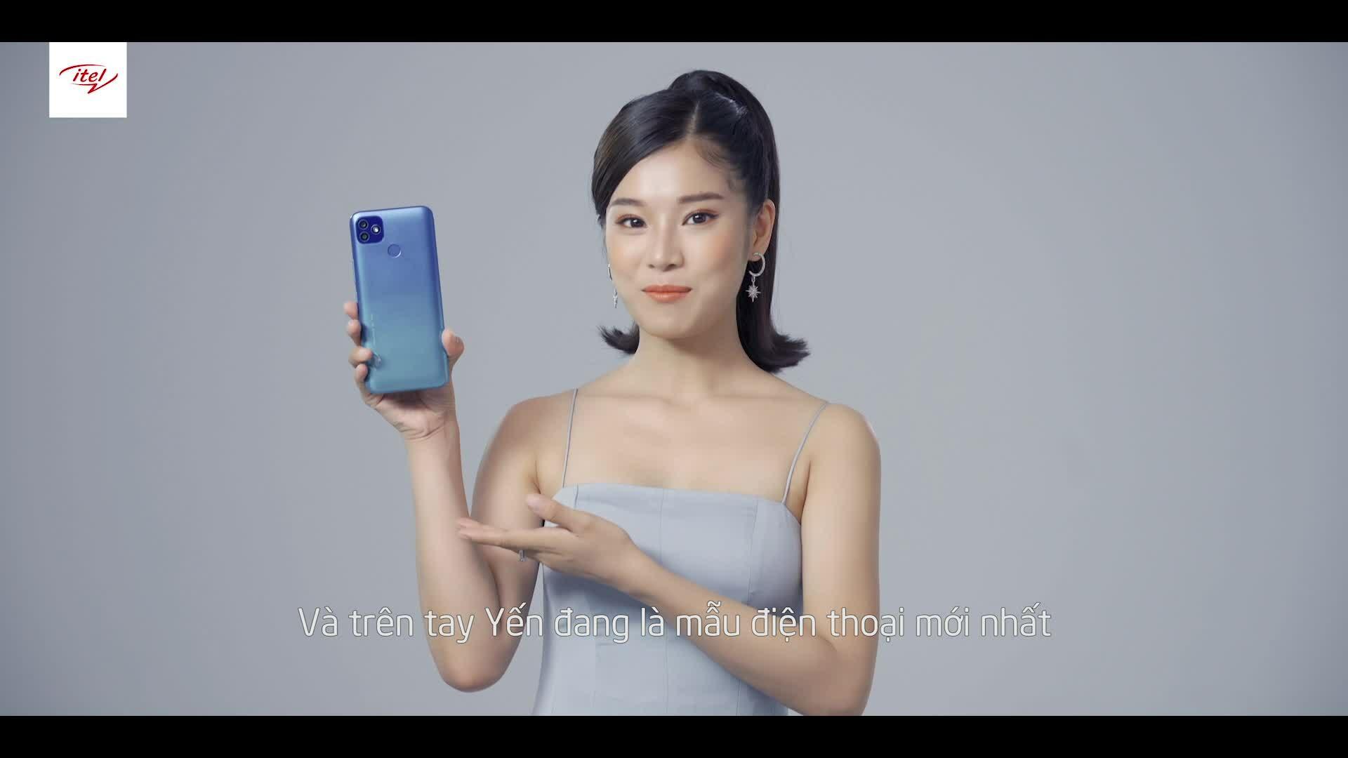 Hoàng Yến giới thiệu sản phẩm mới của itel Mobile