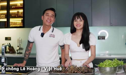 Cuộc sống vợ chồng Lê Hoàng ở nhà phố 1.000m2