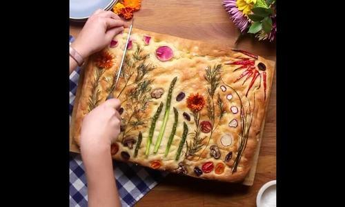 Làm bánh mì đẹp như tranh đồng nội