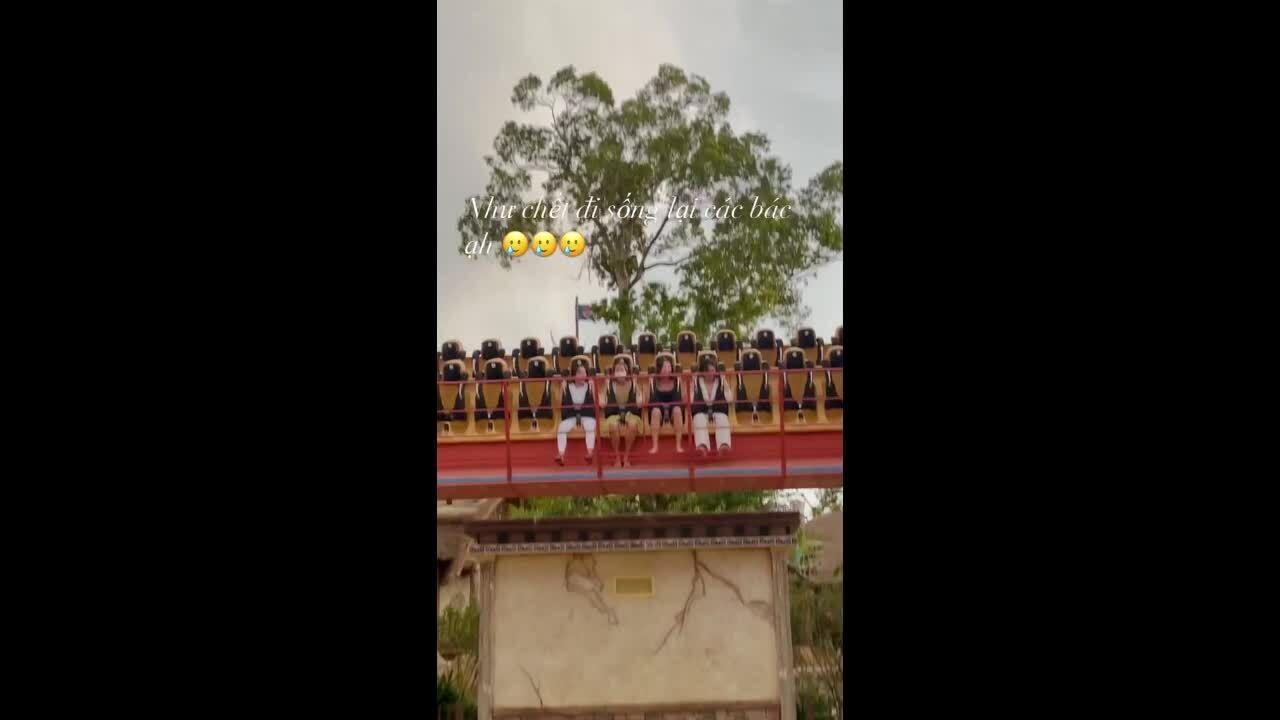 Kỳ Duyên - Minh Triệu vật vã chơi cảm giác mạnh