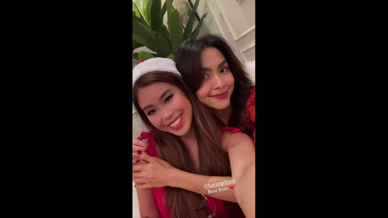 Tiệc Giáng sinh hoành tráng nhà Hà Tăng