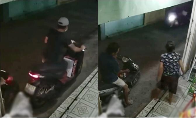Thanh niên trộm thùng bia của hai cụ già