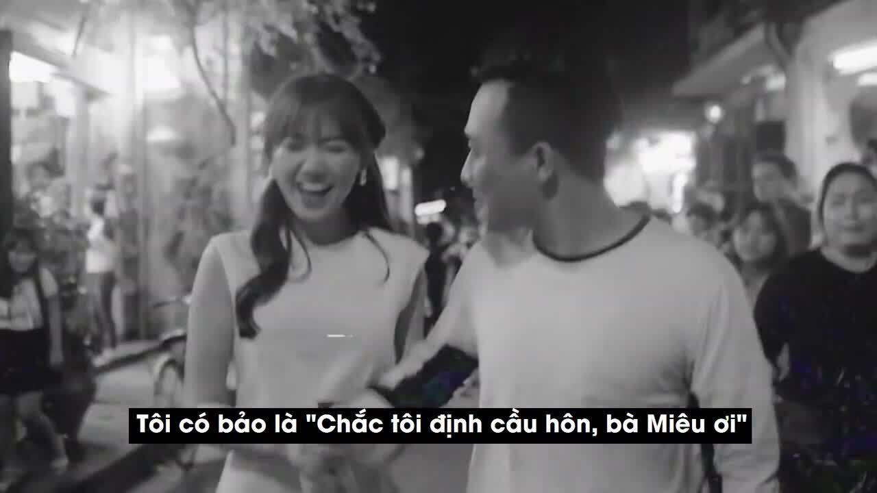 Trấn Thành kể về màn cầu hôn Hari Won