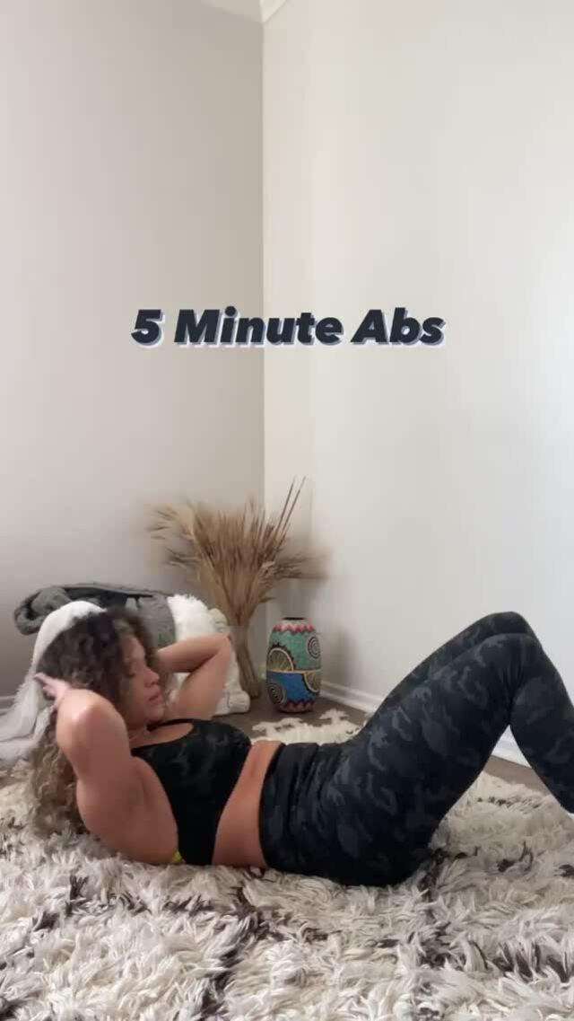 Bài tập bụng 5 phút cuối ngày