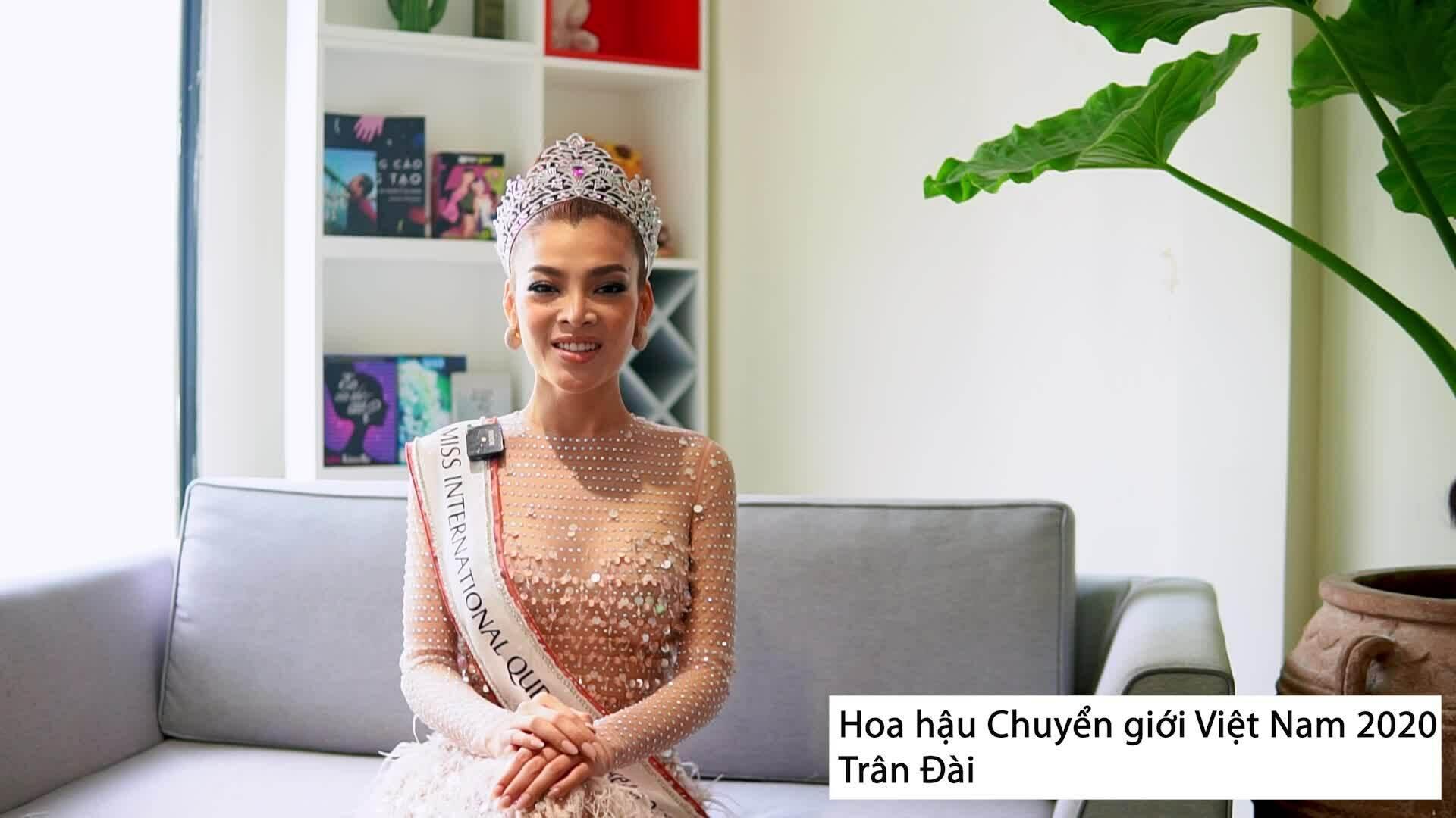 Hoa hậu Trân Đài: 'Bạn trai khóc khi tôi thừa nhận là người chuyển giới'