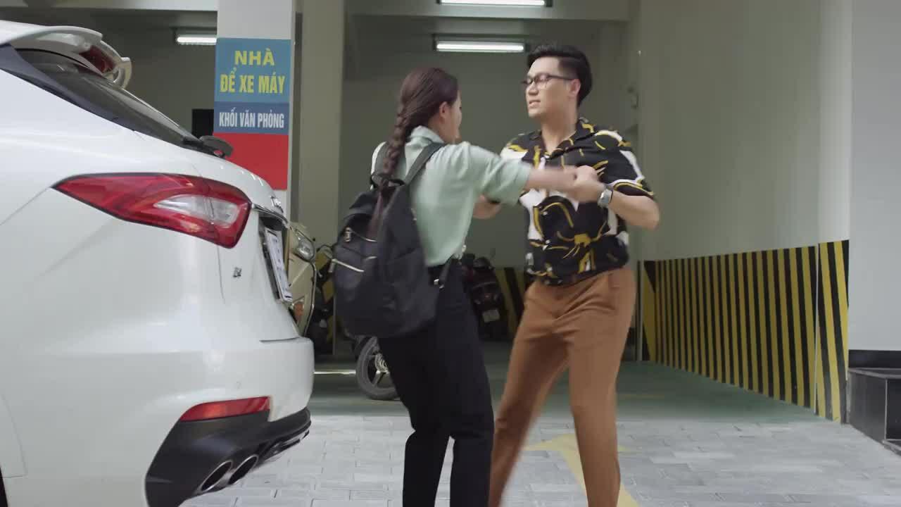 Việt Anh ngại tương tác với Thu Trang ngoài 'Hướng dương ngược nắng'