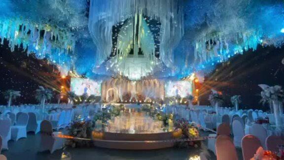 Các siêu đám cưới trong lâu đài của rich kid Việt
