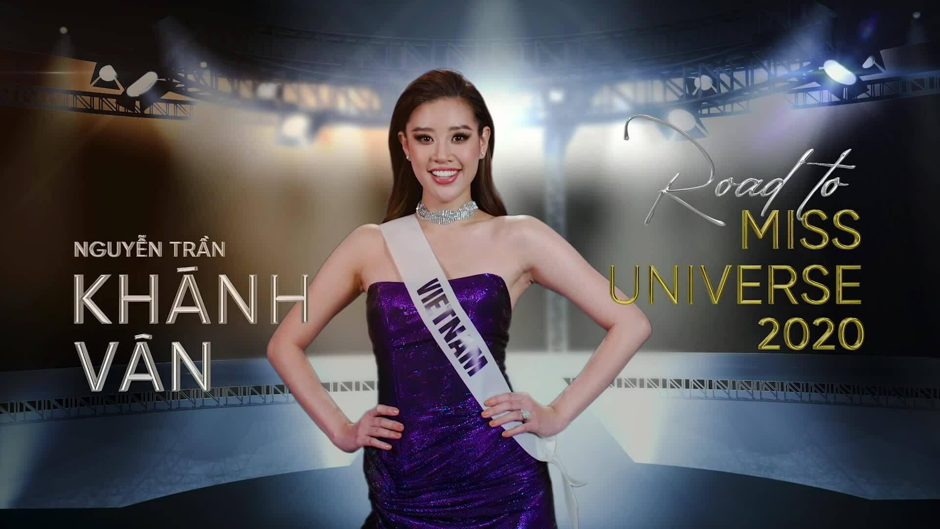 Khánh Vân ra mắt series quá trình tập luyện cho Miss Universe 2020