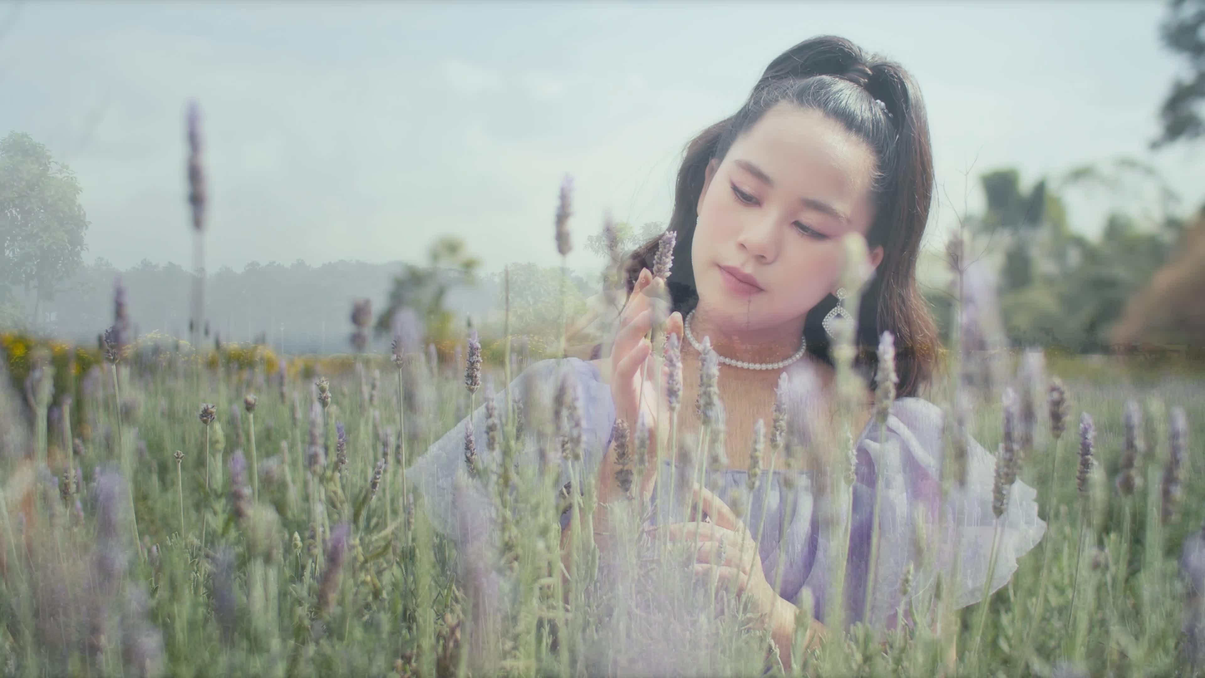Hoa hậu nhí Bella Vũ diện 6 bộ váy quay MV ở Đà Lạt