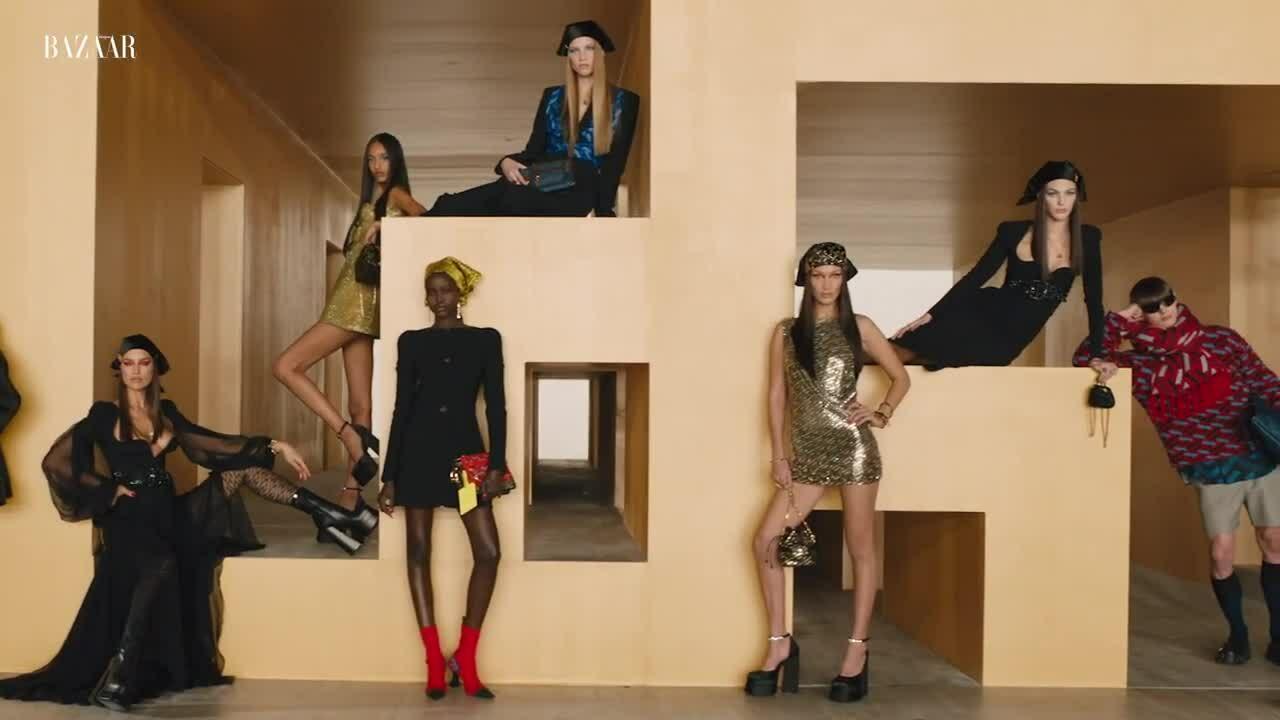 Khoảnh khắc ấn tượng của Milan Fashion Week