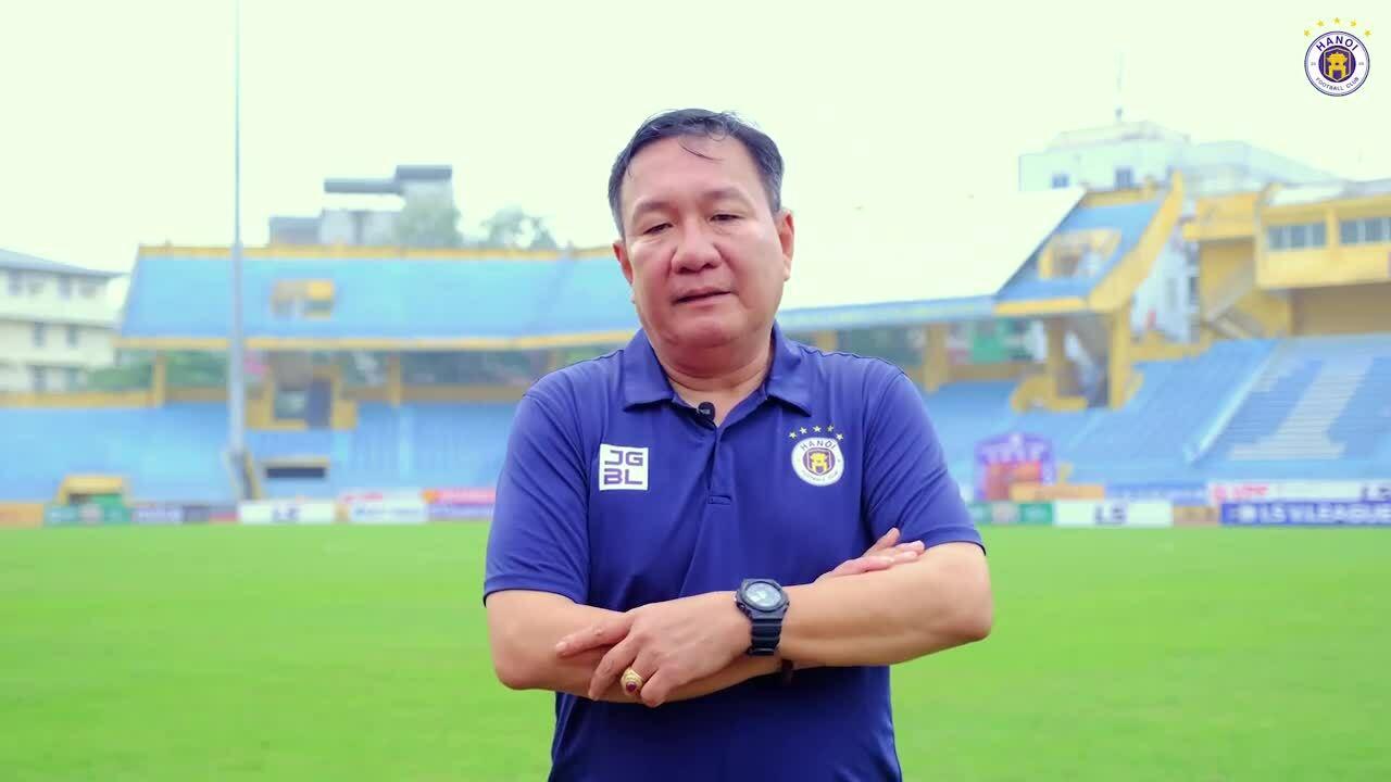 Chia sẻ của HLV Hoàng Văn Phúc khi nhận lời dẫn dắt Hà Nội