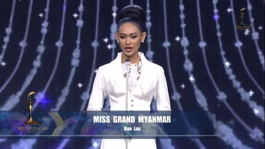 Hoa hậu Hòa bình Myanmar chia sẻ về bạo động tại quê nhà