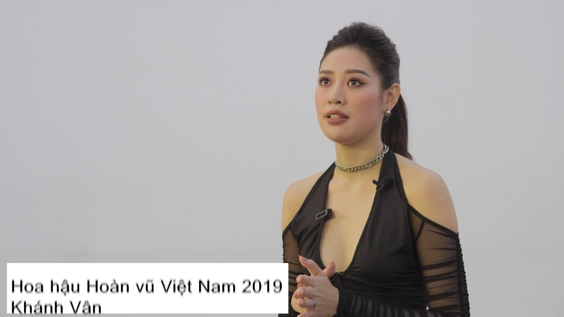Khánh Vân chia sẻ trước thêm thi Miss Universe