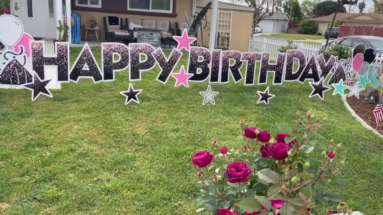 Ngọc Anh 3A đón sinh nhật ở Mỹ