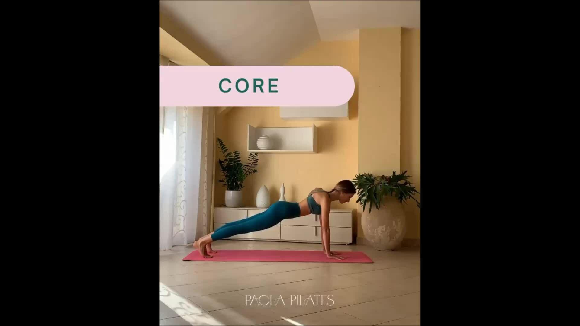 4 động tác củng cố sức mạnh vùng cơ lõi