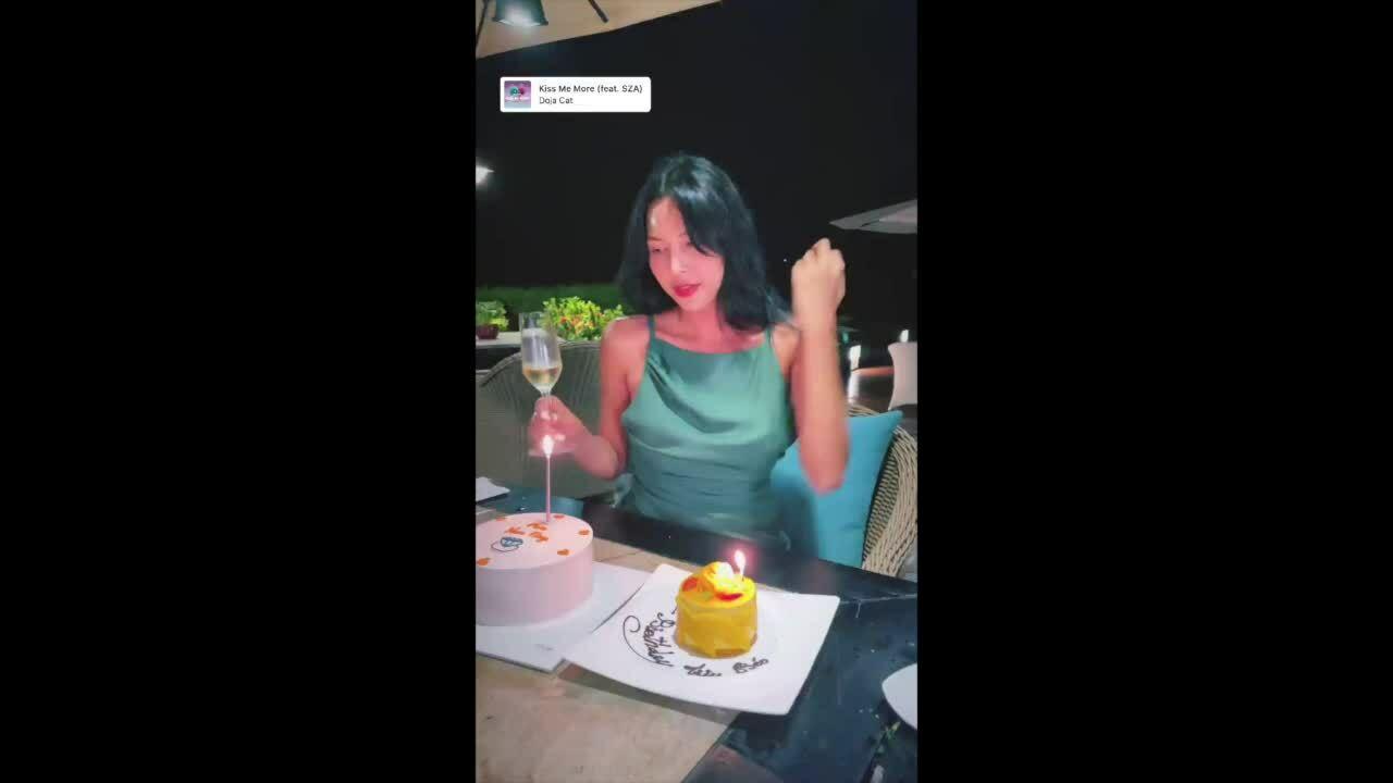 Tiệc sinh nhật trong resort Kỳ Duyên Minh Triệu