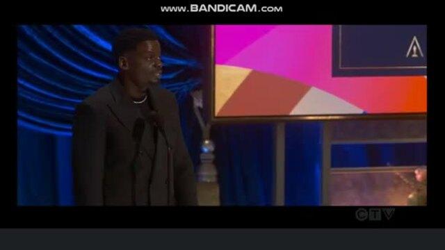 Daniel Kaluuya phát biểu Oscar 2021