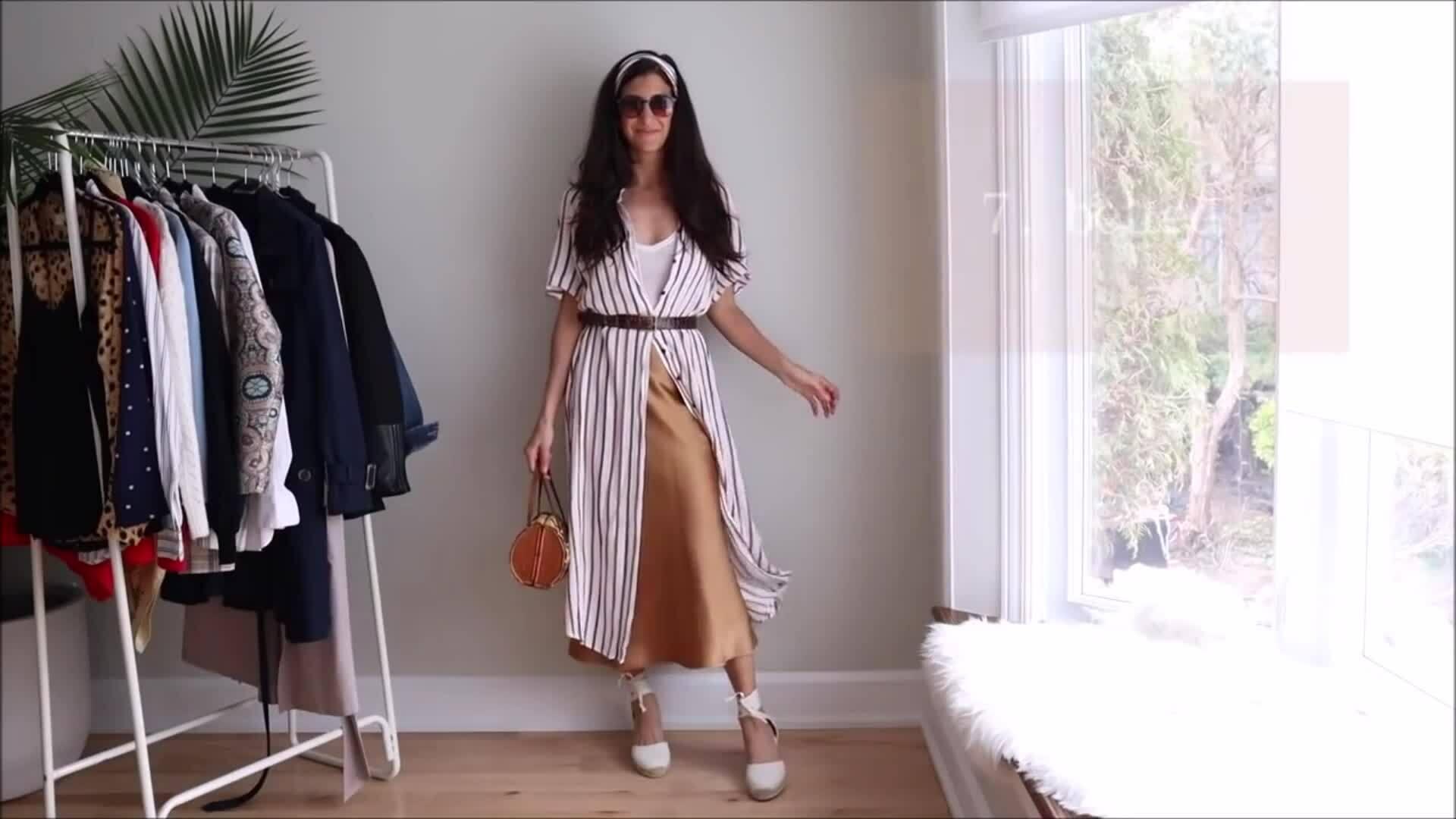 20 cách mix một chiếc chân váy midi