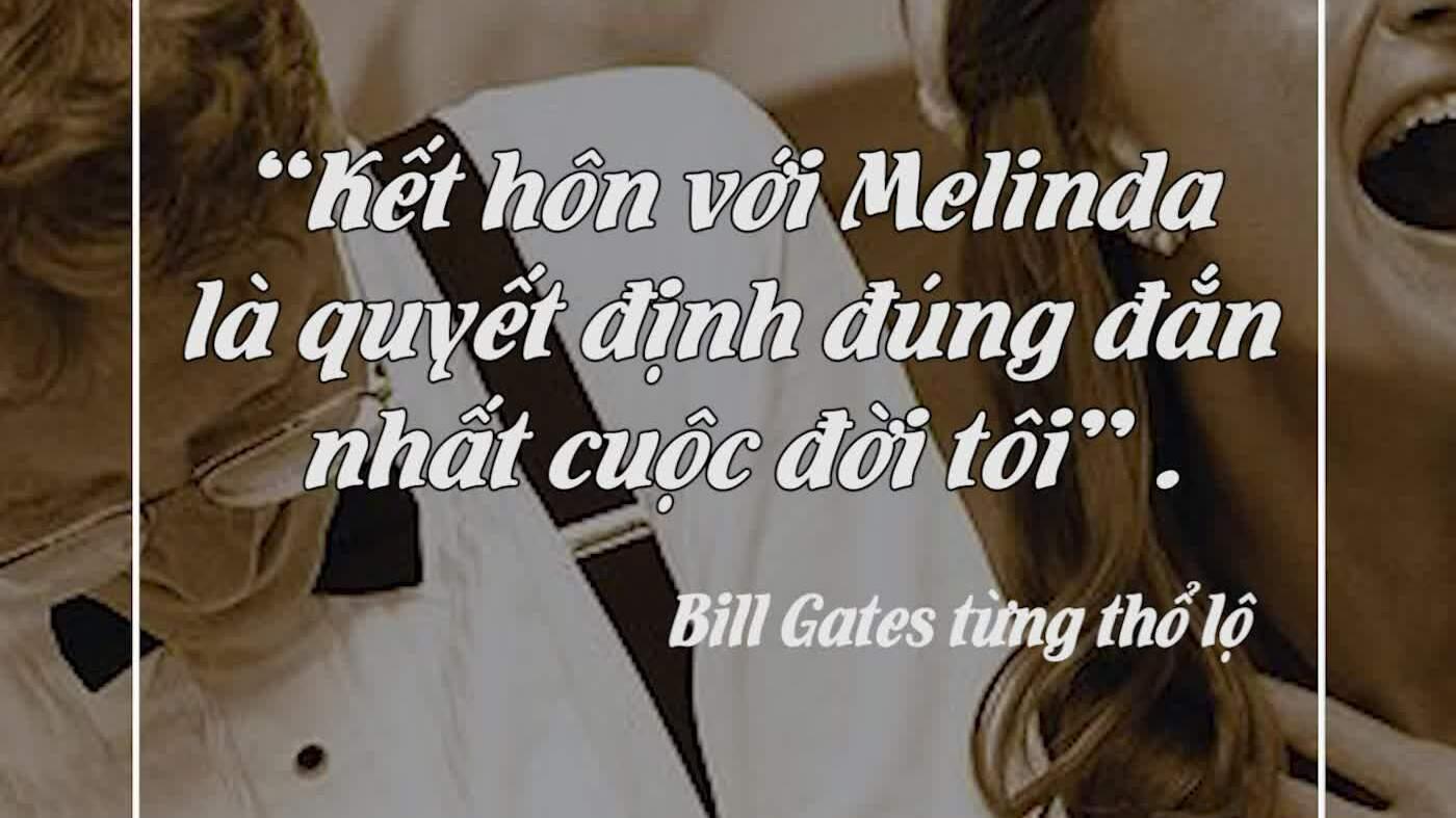 Những dấu hiệu cảnh báo cuộc ly hôn của Bill Gates và Melinda
