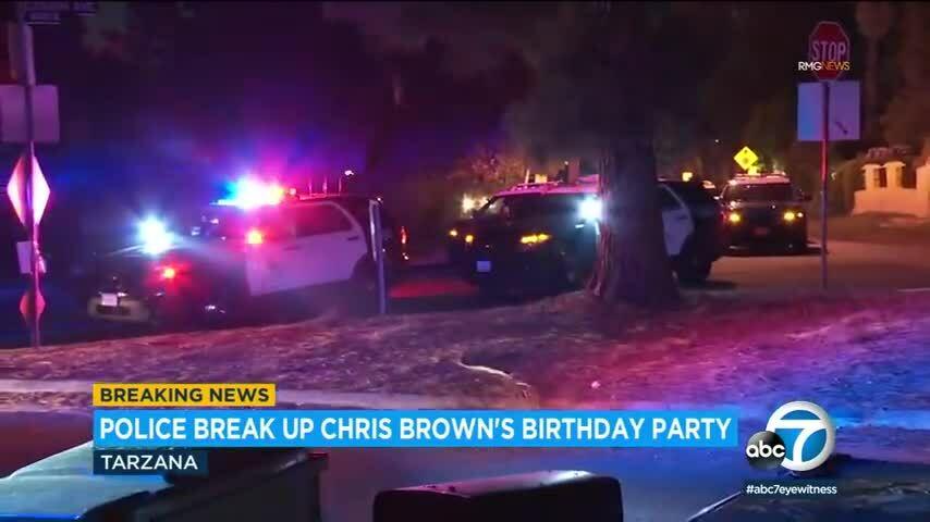 Chris Brown gây náo loạn với tiệc sinh nhật 500 khách mời