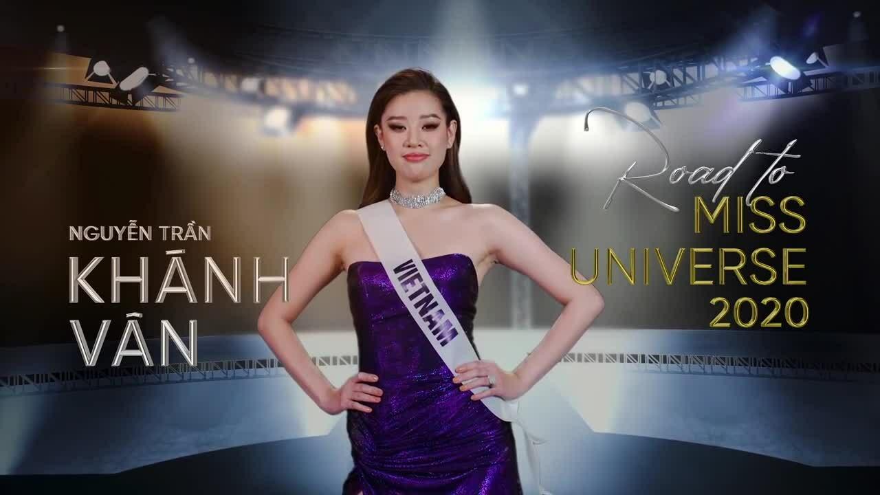 Những màn catwalk của Khánh Vân tại Miss Universe