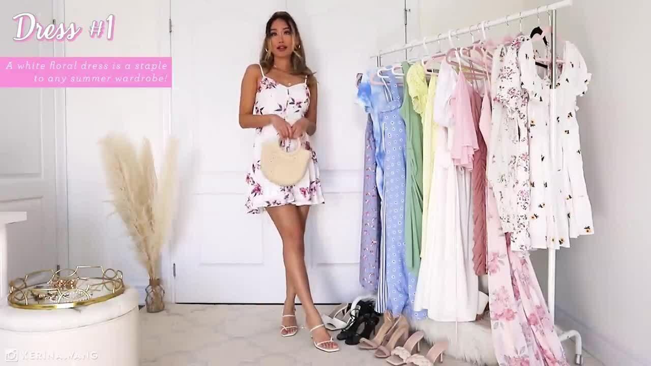 15 mẫu váy hè nữ tính