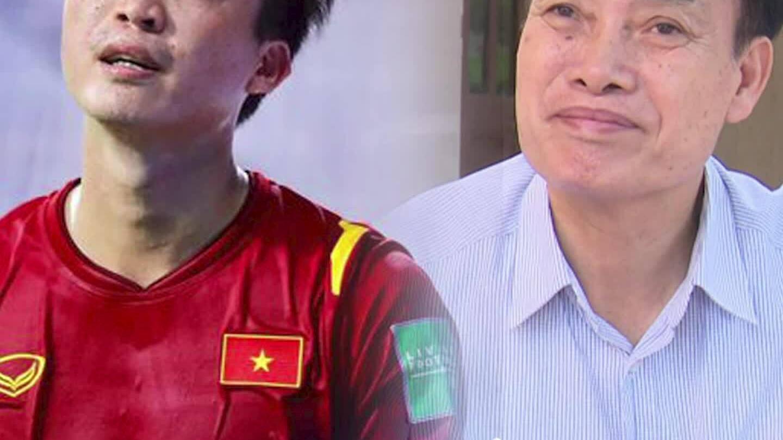 Bố Tuấn Anh mừng vì con không ra sân trận gặp Malaysia