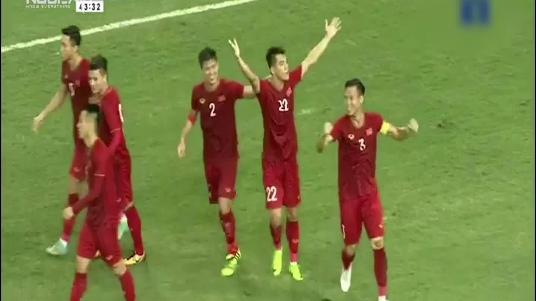 5 ประตูของ Tien Linh ในฟุตบอลโลก 2022 รอบคัดเลือก