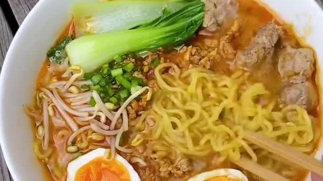 Miso ramen của Tăng Thanh Hà