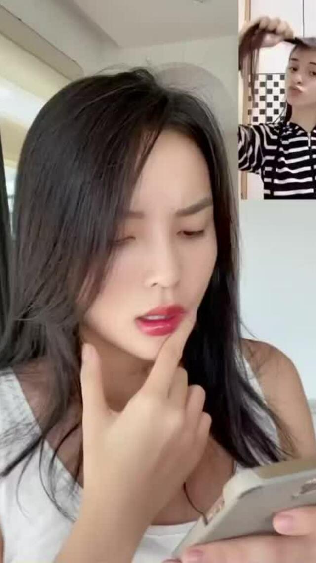 Minh Triệu cắt tóc cho Kỳ Duyên