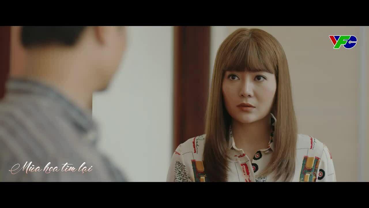 Thanh Hương ngại ngùng đóng cảnh tình cảm với Duy Hưng