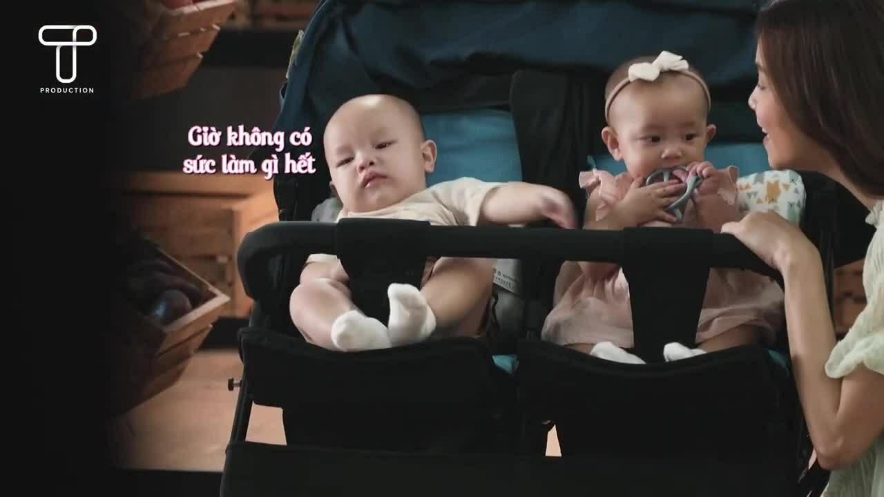 Hồ Ngọc Hà huy động cả nhà khi Lisa - Leon lần đầu quay quảng cáo
